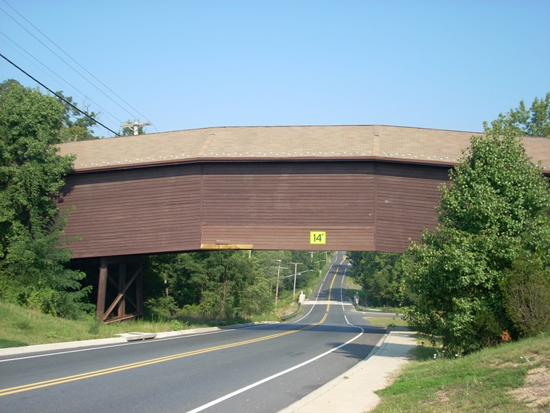 Bowie Horse Crossing Covered Bridge