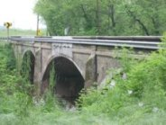 Bridgeport Concrete Bridge built in 1925, photo 2008