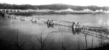 Conowingo Bridge Dynamited 1927