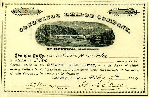Conowingo Bridge Company Stock
