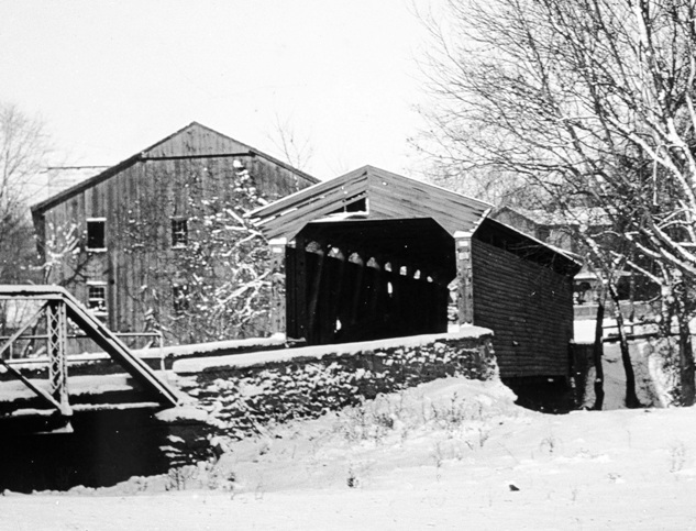 Delaware Avenue Covered Bridge 1917