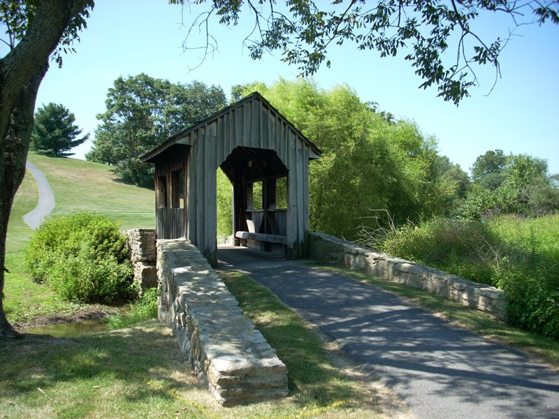 Holly Hills Country Club Upper Covered Bridge