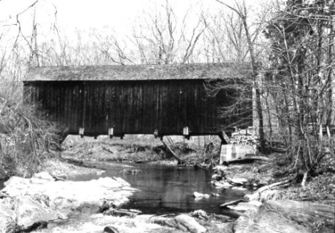 Hookers Mill Covered Bridge 1942