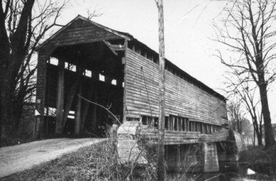 Loys Station Covered Bridge 1946