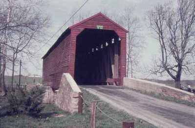 Loys Station Covered Bridge 1975