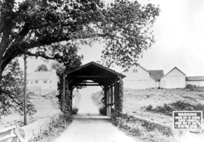 Reynolds Covered Bridge 1930s