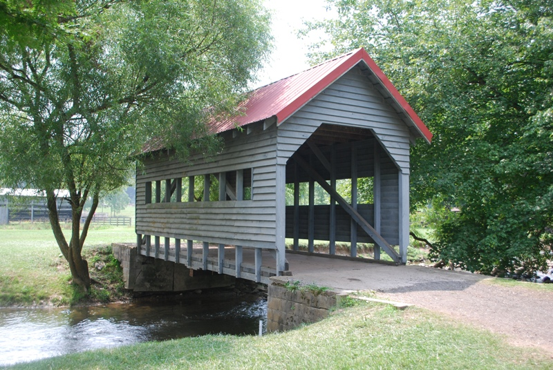 River Valley Ranch Covered Bridge